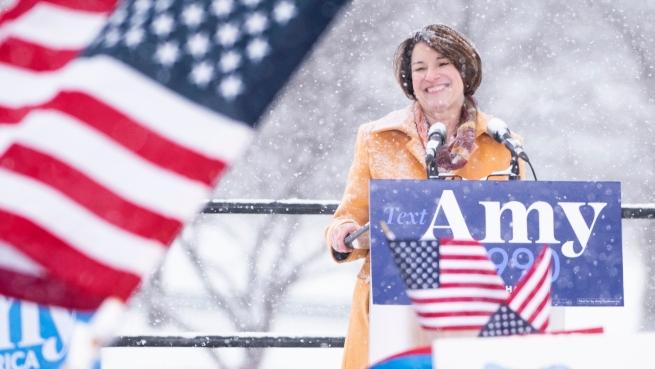 Minnesota Senator Amy Klobuchar Announces Candidacy For President