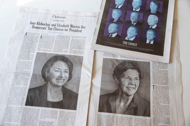 NYT endorse
